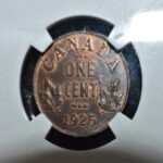 1925 Canada Cent MS63 150x150 - 1925 Canada Penny NGC MS-63 *KEY DATE*