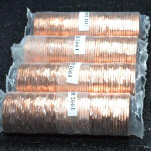 1992 Canada Penny Roll B 300x300 - 1992 Canada 1-Cent Original Penny Roll
