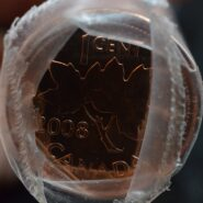 2008 Magnetic Roll Single B 185x185 - 2008 Canada 1 Cent Original Penny Roll