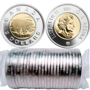 2011 Roll 300x300 - 2011 Canada Toonies $2 Original Mint Roll
