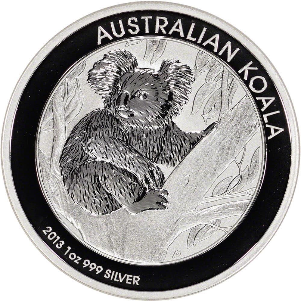 2013 Koala Generic - 2013 Australian Koala 1oz Fine Silver Coin