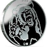 Bull Bear B 150x150 - 2013 Bull Bear 1oz Fine Silver Round