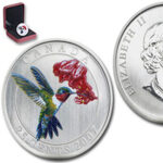 Hummingbird 1 150x150 - 2007 Canada 25c Ruby-Throated Hummingbird Specimen Coin - Birds of Canada