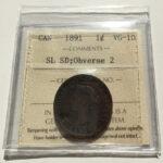 1891 OBV2 SLSD VG10 1 150x150 - 1891 canada Large Cent SDSL Obv2 VG-10