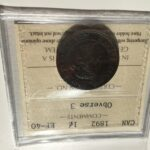 1892 EF40 OBV3 e1456843827603 scaled 150x150 - 1892 Canada Large Cent ICCS EF-40 OBV 3