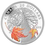 2013 Canada Autumn Maple Canopy B 150x150 - 2013 Canada $20 Autumn Maple Canopy Silver Coin
