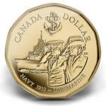 2010 Canada Navy Dollar A 150x150 - 2010 Canada 100th Anniversary Canadian Navy BU $1 Coin