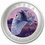 2013 25C BARN OWL 150x150 - 2013 Canada 25c Barn Owl Specimen - Birds of Canada