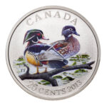 2013 25C WOOD DUCK  150x150 - 2013 Canada 25c Wood Duck Specimen - Ducks of Canada