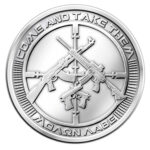 AG 47A 1 150x150 - 2013 SBSS AG-47 0.999 1oz Fine Silver Round