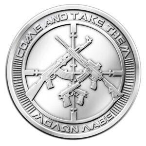 AG 47A 1 300x300 - 2013 SBSS AG-47 0.999 1oz Fine Silver Round