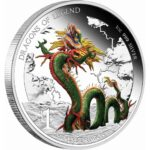 Chinese Dragon Generic A 150x150 - 2012 $1 Tuvalu Chinese Dragon 1oz Fine Silver Proof Coin