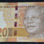 "R20 Lot F 150x150 - South Africa Mandela 2012 ""AA"" Prefix Twenty Rand UNC Banknote AA 4469035 B"