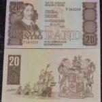 R20 UNC G De Kock D2II 564258 150x150 - South Africa Twenty Rand GPC De Kock D211 564258 Banknote UNC Condition