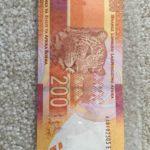 South Africa 2012 Mandela 200 Rand AA Prefix Banknote UNC Condition AA0102505E e1459533097318 150x150 - South Africa 2012 Mandela UNC 200 Rand AA0102505E