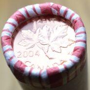 2004P Canada Penny Roll 185x185 - 2004-P Canada 1-Cent Original Roll