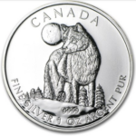 2011 5 WOLF 1OZ PURE SILVER COIN FRONT 150x150 - 2011 Canada $5 Wolf 1oz Pure Silver Coin