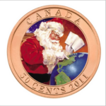 2011 50C GIFTS FROM SANTA FRONT 150x150 - 2011 Canada 50-cent Gifts from Santa Lenticular Coin