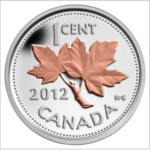 2012 1C FAREWELL TO THE PENNY 0.5OZ FINE SILVER with SELECTIVE PINK GOLD PLATING CoA 13570 150x150 - 2012 Canada 1/2oz Fine Silver Penny with Selective Pink Gold Plating
