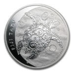 2013 10 FIJI TAKU TURTLE 0.999 5oz FINE SILVER COIN FRONT 150x150 - 2013 $10 Fiji Taku Turtle 0.999 5oz Fine Silver Coin