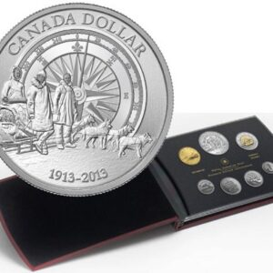 2013 Sepcimen Canadian Arctic 100th Anniversary A 1 300x300 - 2013 Arctic Expedition (1913-1916) Specimen Set with Frosted Relief