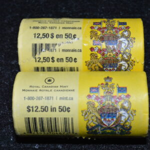 2013 Special Wrap Rolls 1 300x300 - 2013 Canada 50-cent Special Wrap Roll