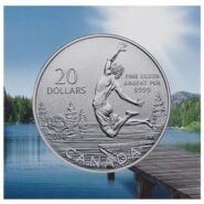 1 185x185 - 2014 Summertime $20 for $20 Fine Silver Coin