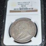 1892 Crown AU53 4 e1591277185809 150x150 - 1892 South Africa ZAR Crown *Rare Double Shaft* KEY DATE - NGC Graded AU-53