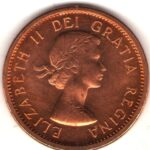 Small Cents 1953 to 1964 (Elizabeth II)