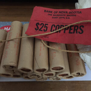 1981 OBW 300x300 - 1981 Canada OBW Sealed Roll 1-Cent Pennies