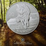 2013 Wolf Card 150x150 - 2013 Wolf Canada $20 for $20 1/4 Fine Silver Coin