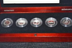 FTP Set 2nd 300x200 - 2012 Farewell to the Penny 5 Coin Fine Silver Set