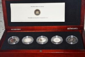 FTP Set Feature 300x199 - 2012 Farewell to the Penny 5 Coin Fine Silver Set