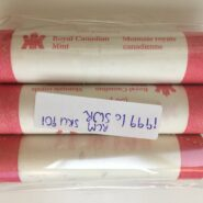 1999 SW 185x185 - 1999 Canada 1-Cent RCM Special Wrapped Penny Roll