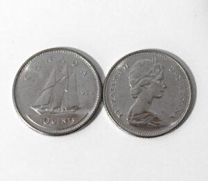 1970 300x261 - 1970 Canada Choice UNC 10-cent Dime **KEY DATE**