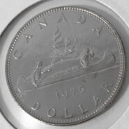 1975R 185x185 - 1975 Canada $1 Specimen Proof - Attached Jewels