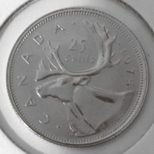 1975R 2 300x300 - 1975 Canada 25-cent Quarter Specimen Proof