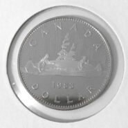 1983R 185x185 - 1983 Canada $1 Dollar Proof