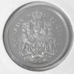 1985R 1 150x150 - 1985 Canada 50-cent Proof with Frosted Finish