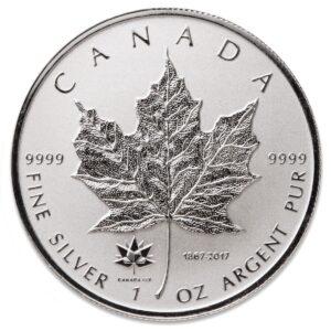 2017 150 Privy R 300x300 - 2017 Canada Maple Leaf 150th Anniversary Privy 1oz Reverse Proof