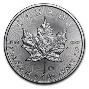 2017 R 300x300 - 2017 Canada Maple Leaf 1oz GEM Fine Silver Coin