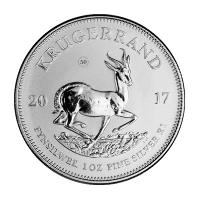 2017 Silver Rev 1 - 2017 South African Fine Silver Krugerrand