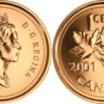 2001p penny generic e 150x150 - 2001-P Canada 1-cent PL Penny from Test Coinage Set