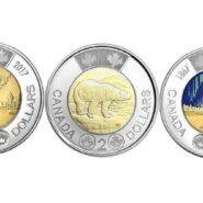 2017 Trio 185x185 - 2017 $2 BU Toonie Trio - One Coin of Each Variety