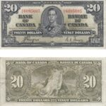 1937 20 150x150 - 1937 $20.00 note in VF-EF Condition