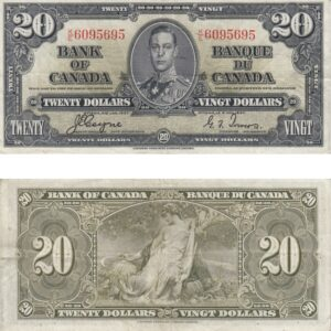 1937 20 300x300 - 1937 $20.00 note in VF-EF Condition