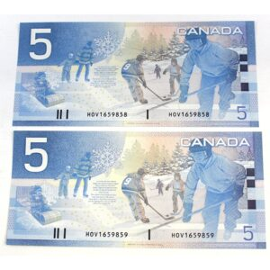 2x02 5 Jenkins Dodge 300x300 - 2002 $5 Consecutive Serial Numbers x 2 UNC Jenkins-Dodge Notes