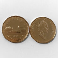 1996 185x185 - 1996 Canada Loonie $1 CUNC Coin from Mint Roll