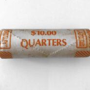 1971 25c Roll3 185x185 - 1971 Canada Quarter 25-cent UNC Original Roll