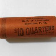 69R25c scaled 185x185 - 1969 Canada Quarter 25-cent UNC Original Roll
